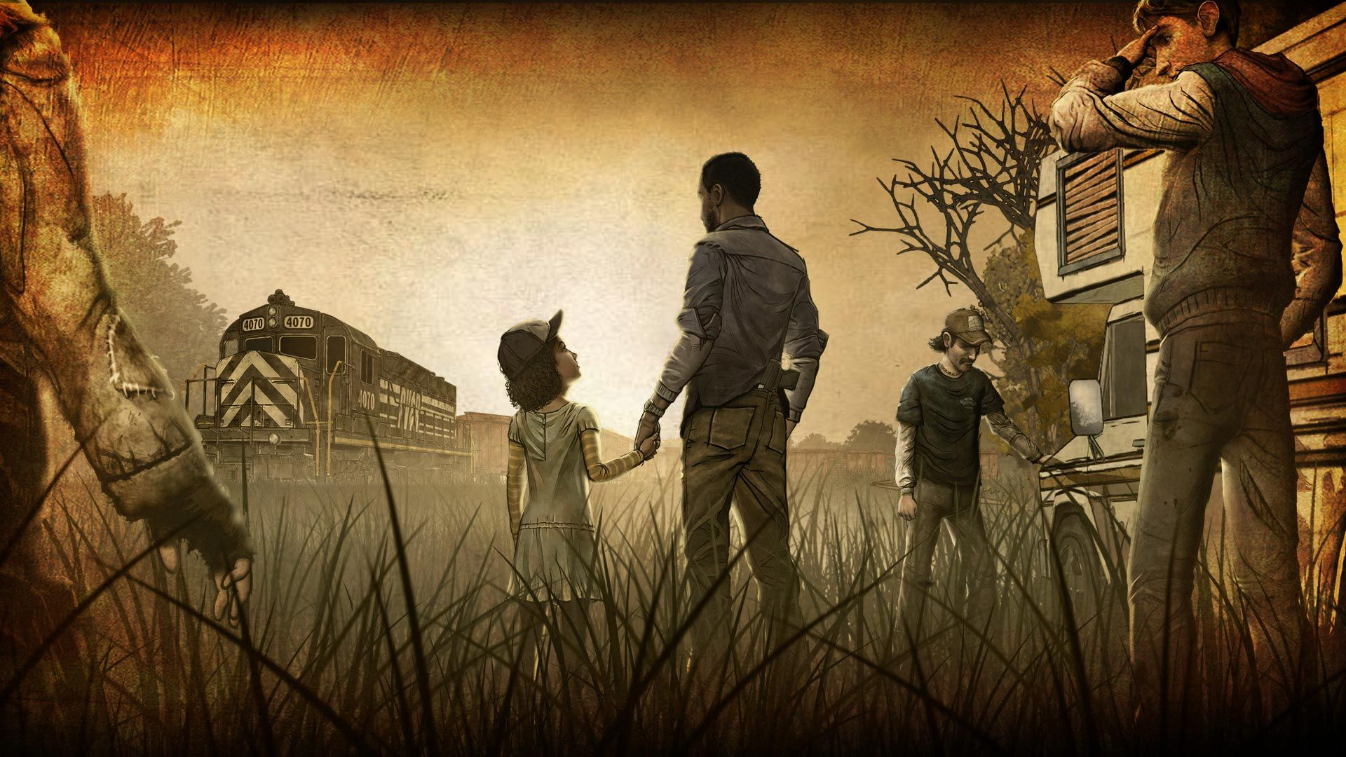 The walking dead long road ahead steam badges pinterest hd the walking dead long road ahead voltagebd Image collections