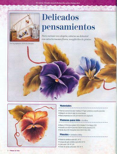 Revista Aprendiendo a Pintar en Tela Nº· 23 - Lucia Lopardo - Picasa Web Albums