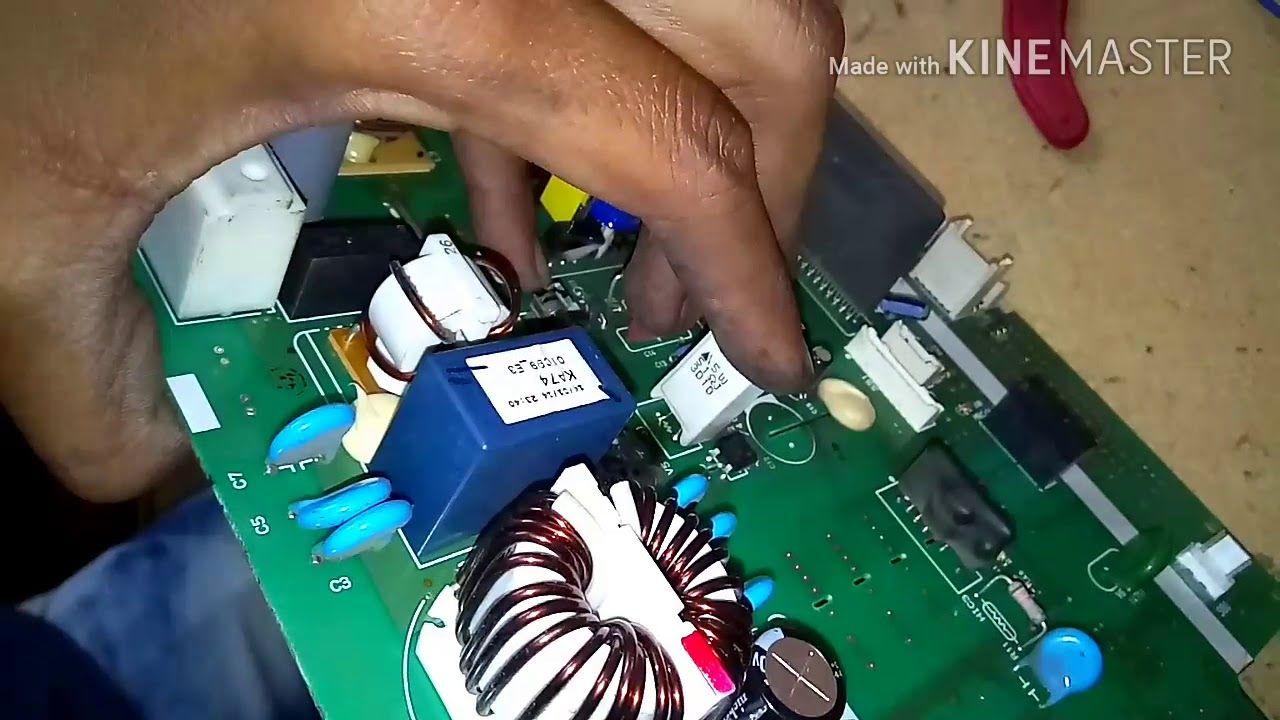 Daikin Inverter Ac Indoor Outdoor Pcb Repairing Inverter Ac Indoor Outdoor Ac Repair