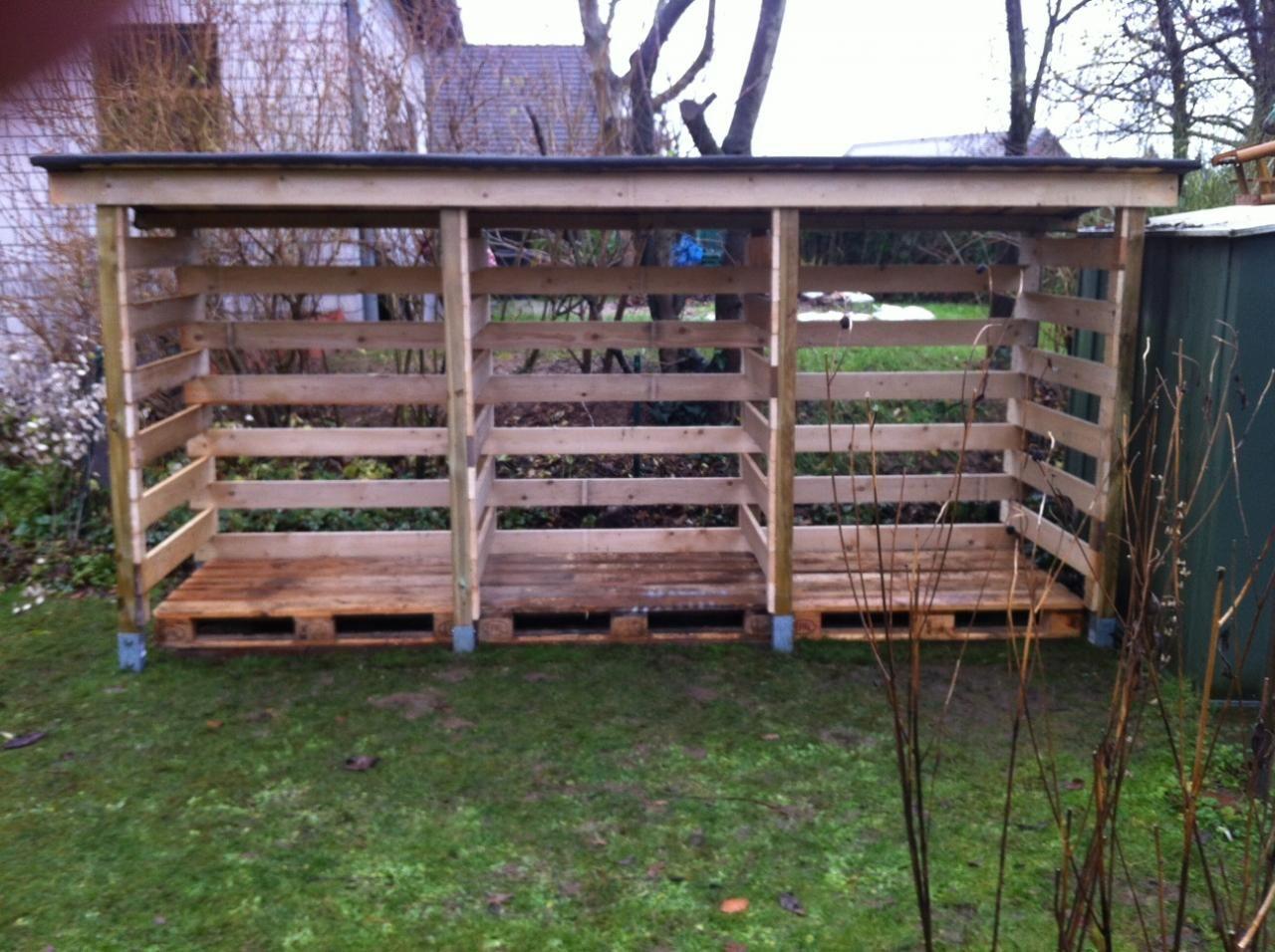 Diy pallet wood shed myoutdoorplans free woodworking