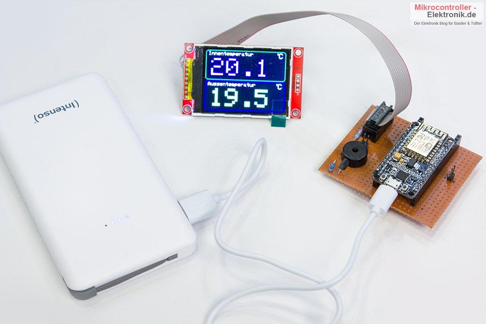 Esp12e Tutorial Und Beispielprojekte Wie Esp12e Adaptermikrocontroller Elektronik De Arduino Projekte Arduino Projekte