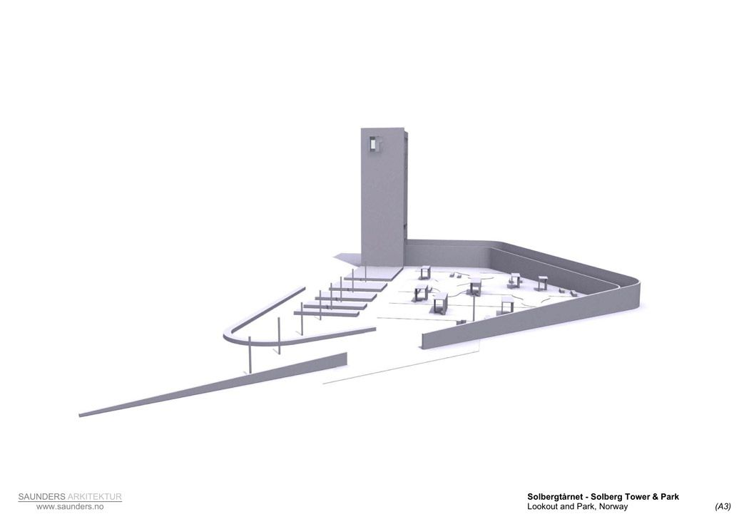 Solberg Tower Rest Area By Saunders Architecture Landezine
