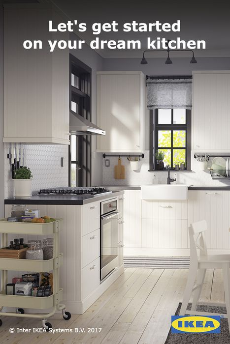 IKEA kitchens are designed to be simple enough to put together at ...