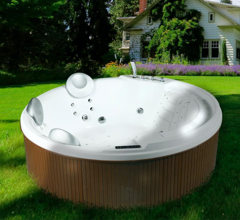 Minipiscina vasca idromassaggio spa wellness 200x200 cm da for Vasca tartarughe da esterno