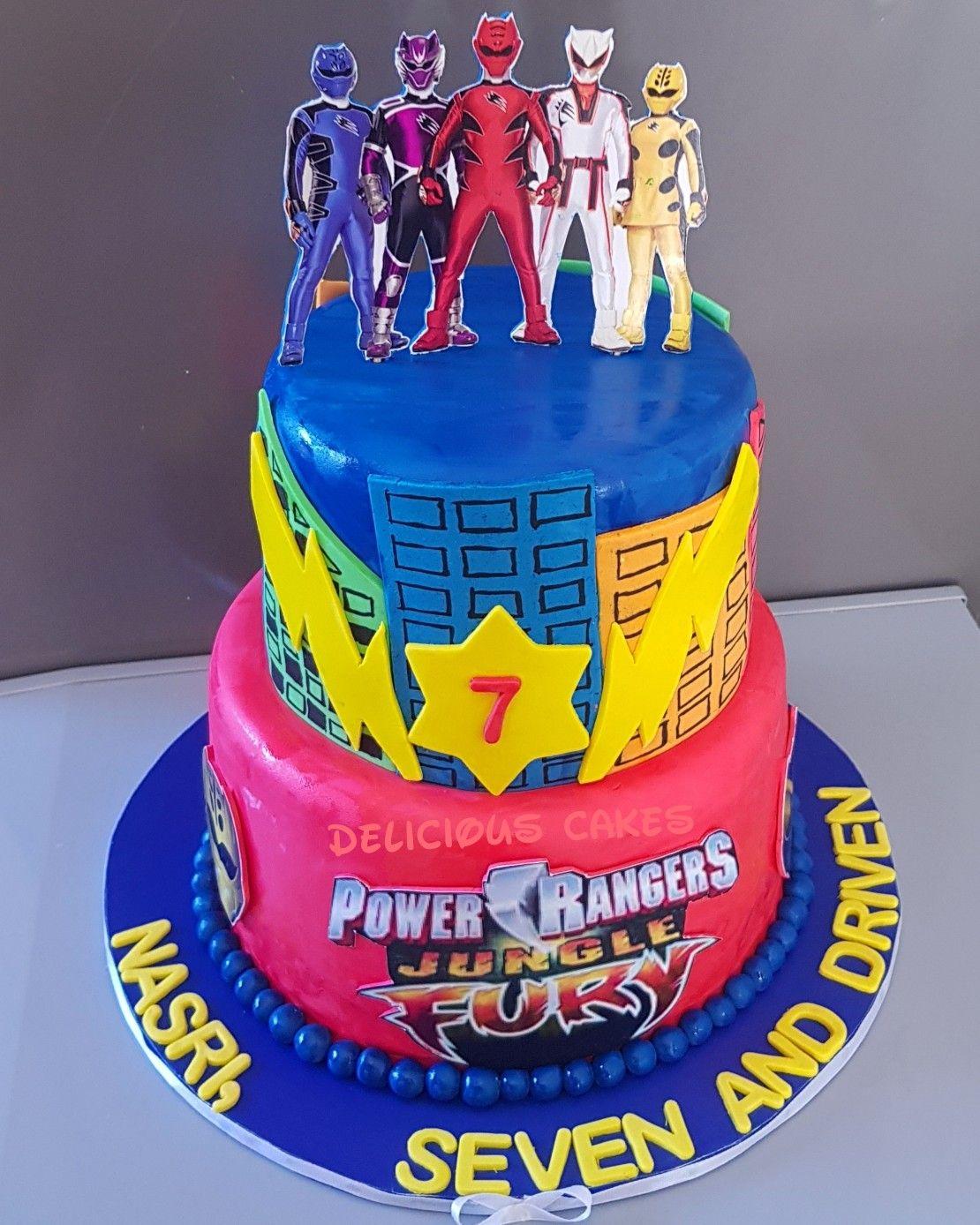 Power Rangers Jungle Fury Power Rangers Jungle Fury Yummy Cakes Power Rangers