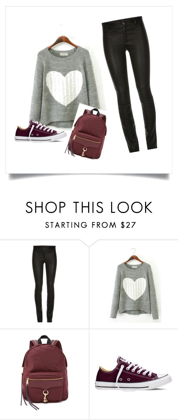 comfy outfit by pellya on Polyvore featuring Converse, Rebecca Minkoff, women's clothing, women's fashion, women, female, woman, misses and juniors