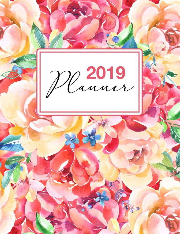 Free Printable 2019 Planner 50 Plus Printable Pages ...