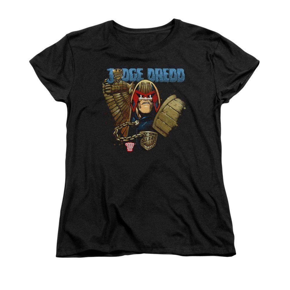 Judge Dredd - Smile Scumbag Women's T-Shirt