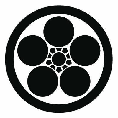 Kamon 家紋 神棚 和柄 イラスト