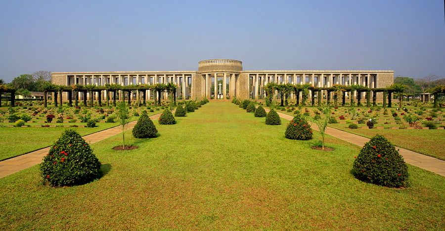 Taken at the Taukkyan War Cemetery, near Yangon, Myanmar. it remembers the allied shoulders who died during the 2nd World War WWII in the Burma and Assam campaigns