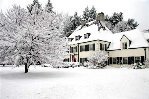 Forty Putney Road Bed & Breakfast - Brattleboro, Vermont in the winter