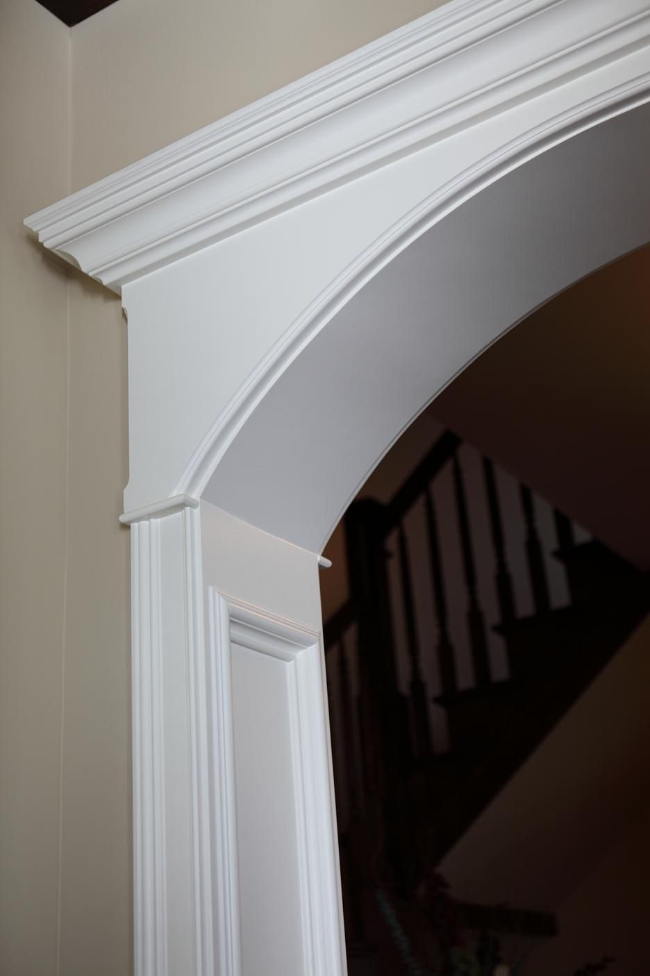 Battaglia homes the very best in interior trim part i for Door moulding