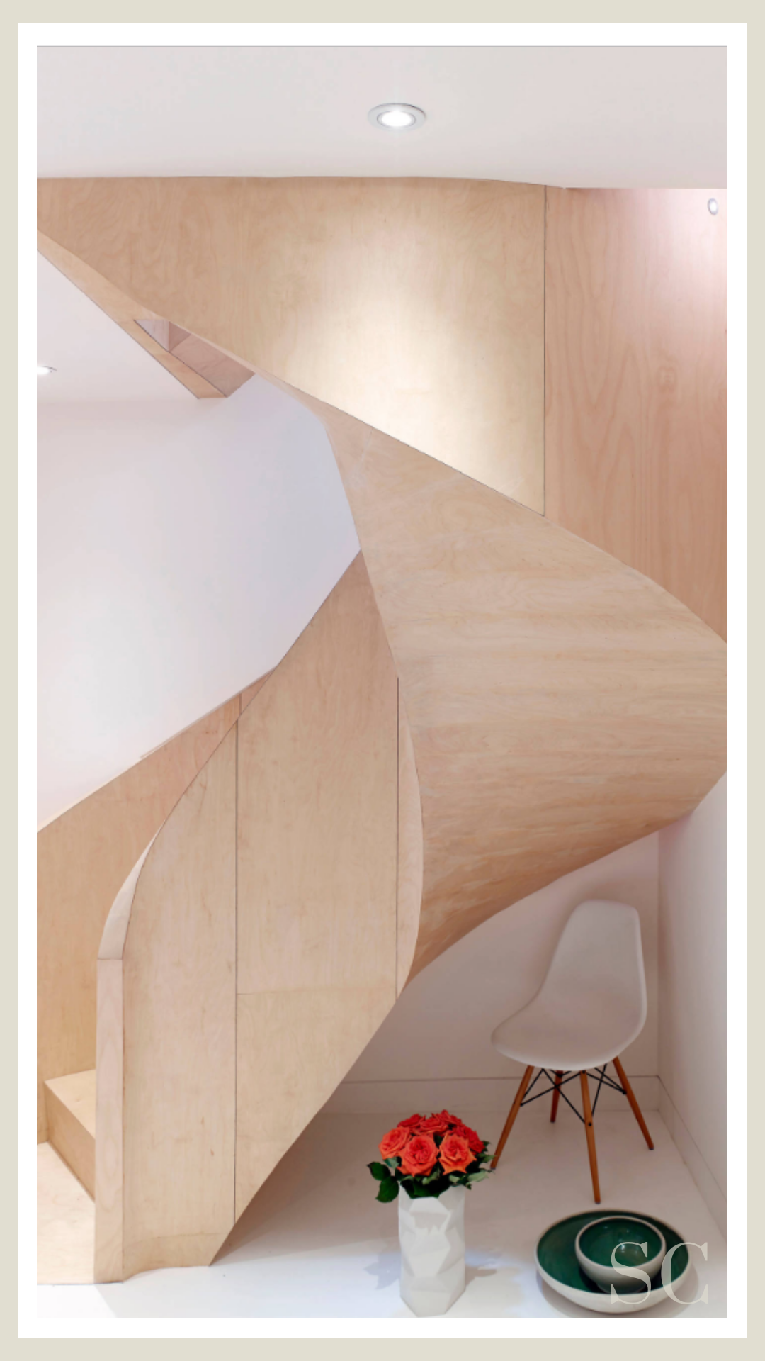 Fitzrovia Mews Spiral Stairs Contemporary Staircase