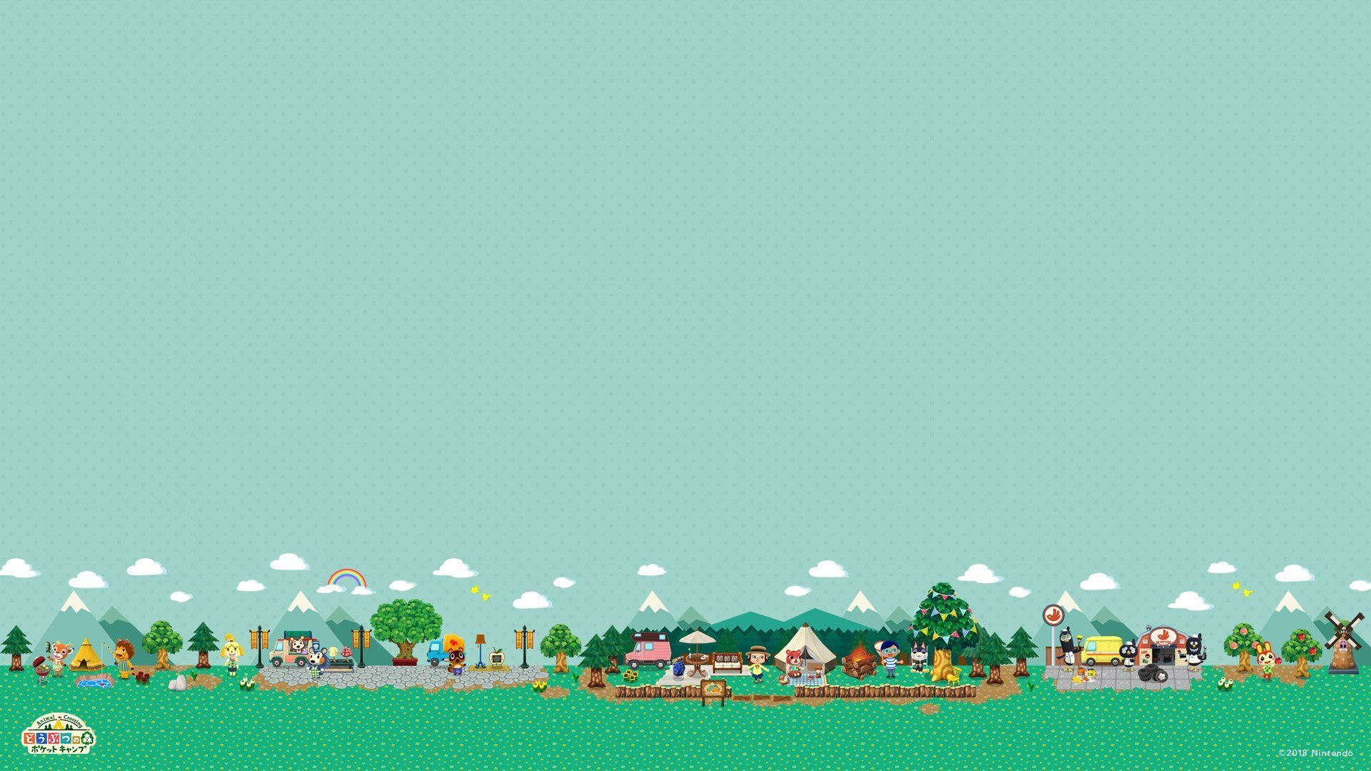 Animal Crossing Desktop Wallpaper In 2020 Animal Crossing Pc Animal Wallpaper Animal Crossing