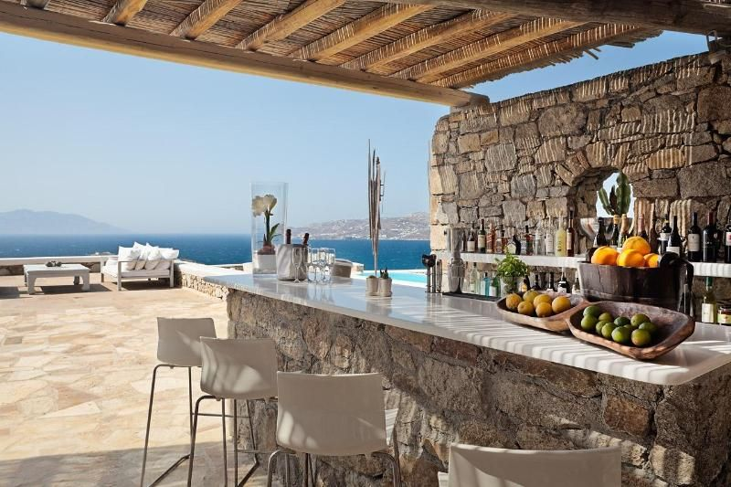 Pick a wedding venue with spectacular views   Mykonos, Greece