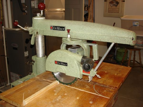 I Just Love The Classic Lines Of This Vintage Dewalt Radial Arm Saw Werkstatt