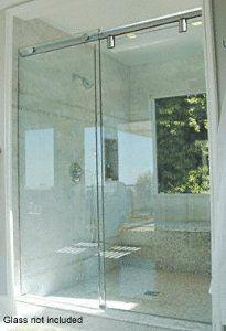 Crl 84 Polished Chrome Hydroslide 180 Degree Standard Sliding Shower Door Kit By Crl 251 35 Excellent Desi Sliding Shower Door Shower Door Kit Shower Doors