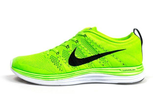 5b82a8184bd4 ... shopping youth big boys nike flyknit lunar 1 summer colour volt black  white 60468 44d92