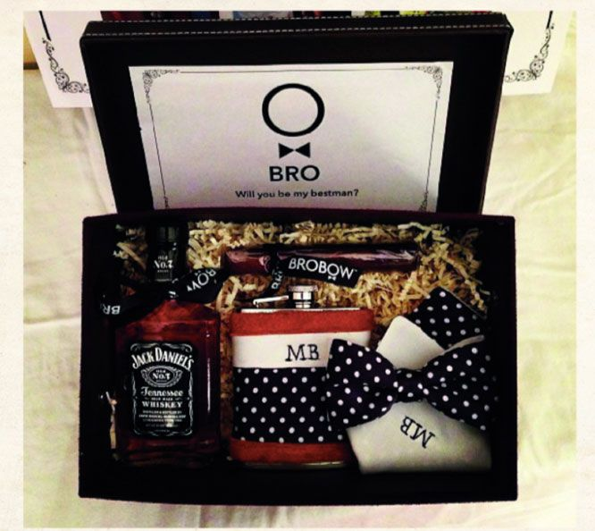 This BroBow Gift Set Is The Perfect Way To Ask Him To Be