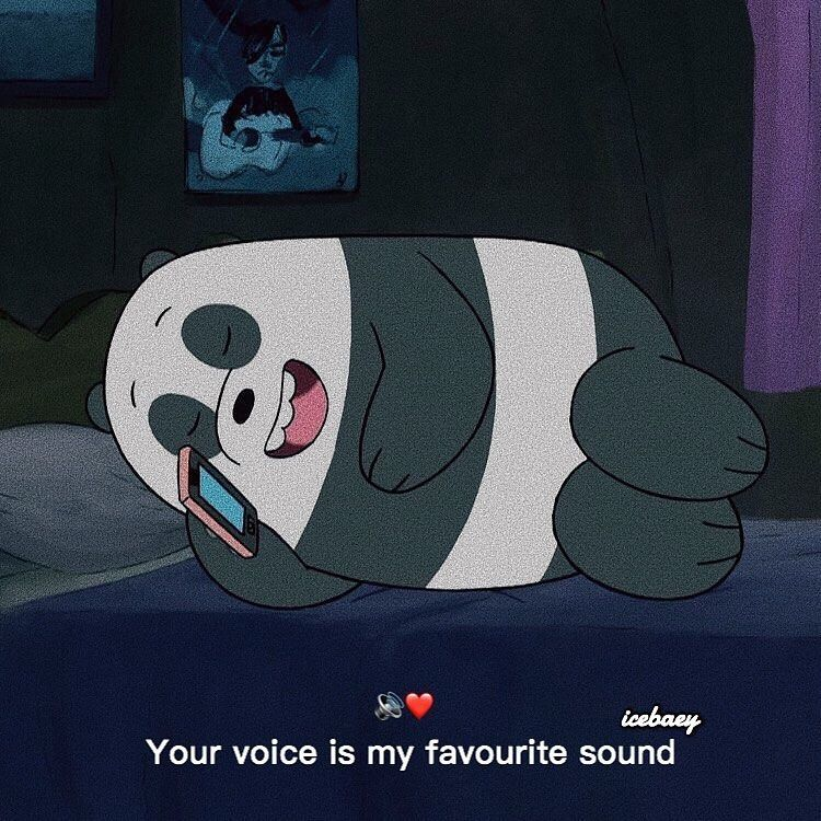 """We Bare Bears on Instagram: """"Tag that person 🐼💕"""""""