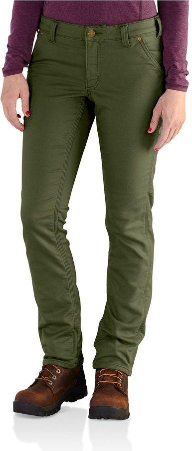 Carhartt Slim Fit Parker Pants (For Women) #carharttwomen