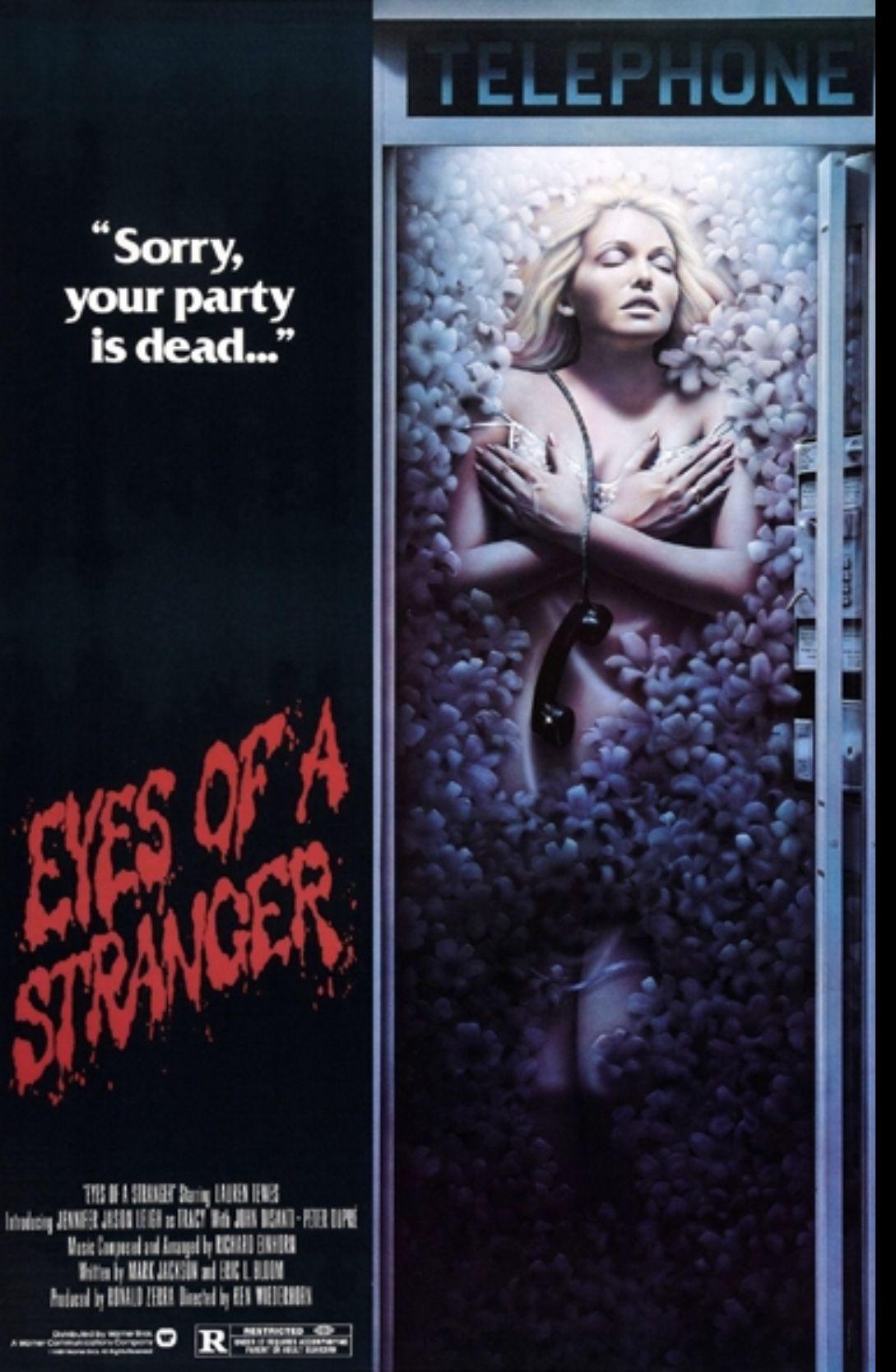 Eyes of a Stranger | The stranger movie, Horror movie posters, Movie ...