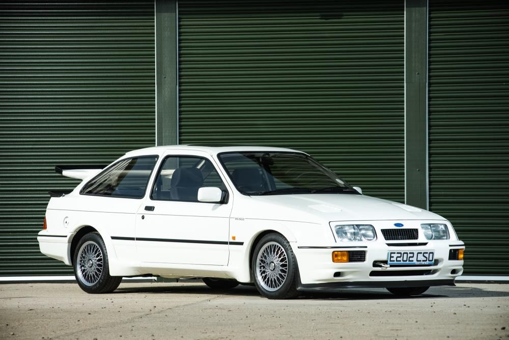 Iconic Eighties Ford Sierra Cosworth Rs500 Is A Potential Record
