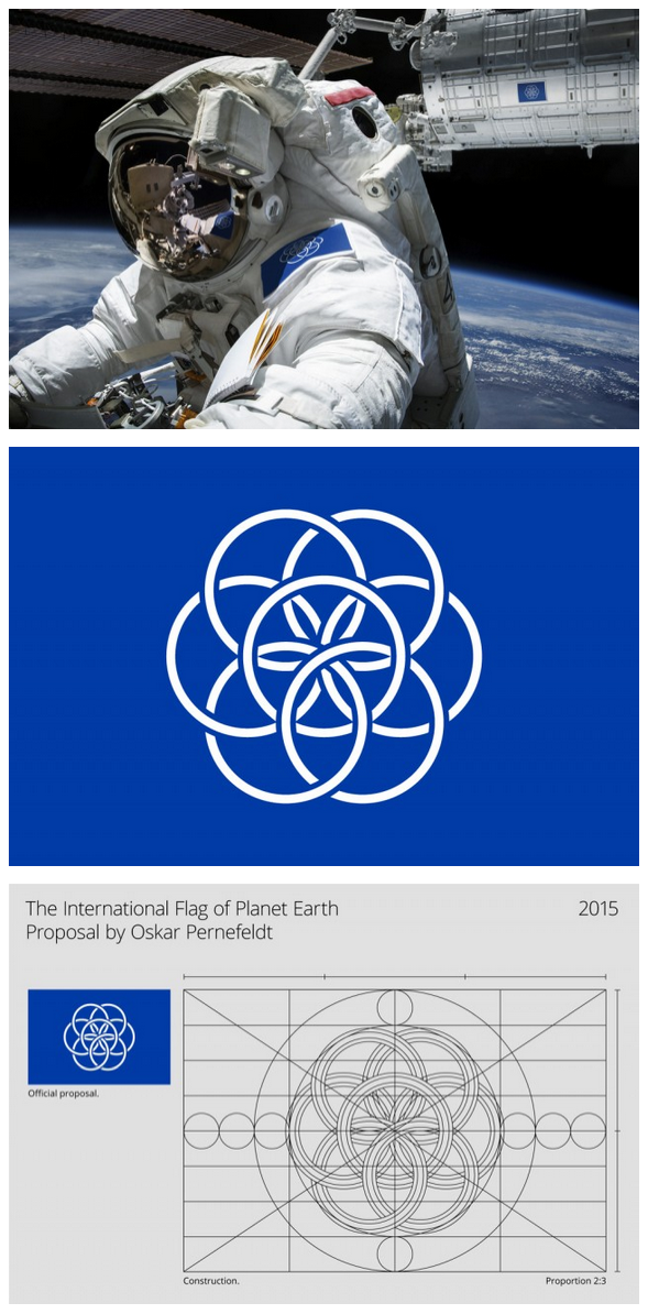 The International Flag of Planet Earth, A proposal by