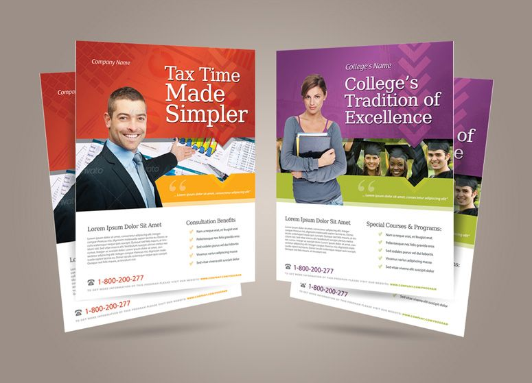 General Purpose Corporate Flyer Template Vol  Corporate