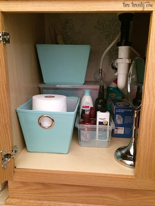 Bathroom Vanity Cabinet Organization This Seems To Be About The Same Size As One In Our I Could Certainly Make Better Use Of