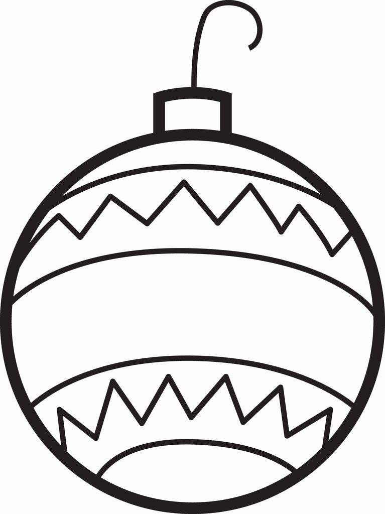 Christmas Ornament Coloring Pages Christmas Ornament Coloring Page Printable Christmas Ornaments Christmas Tree Coloring Page