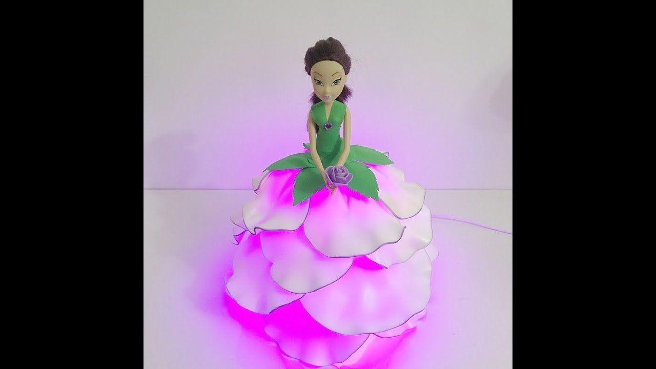 Бесплатный мастер-класс Кукла-светильник из изолона ...