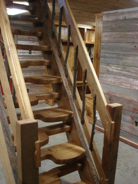 Thomas Jefferson Created The Alternating Tread Stairs To Save Space In His  Home. As A
