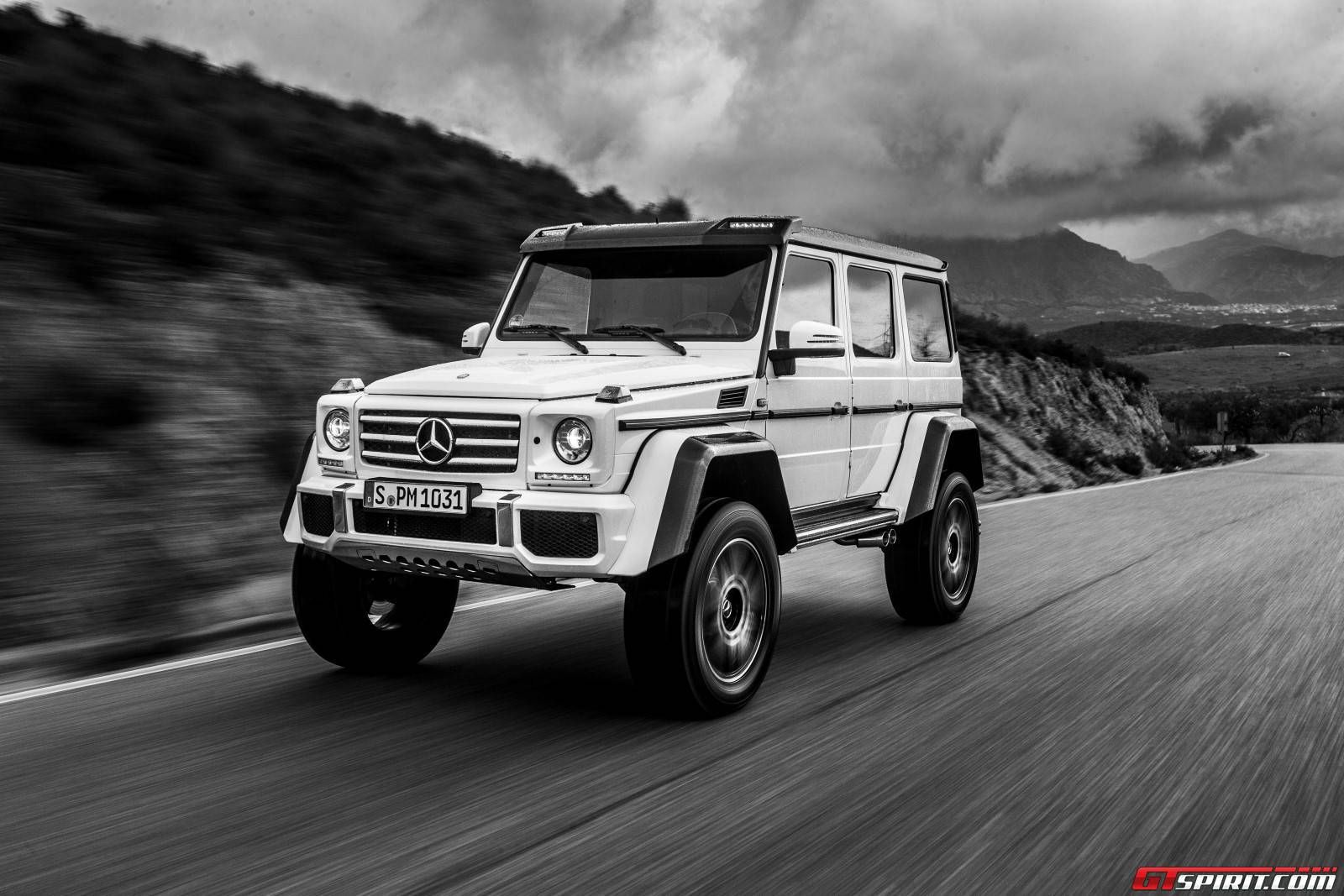 Mercedes Benz 4x4 : mercedes benz g 500 4x4 white cars ~ Maxctalentgroup.com Avis de Voitures