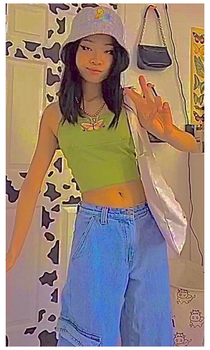 skater indie girl outfits