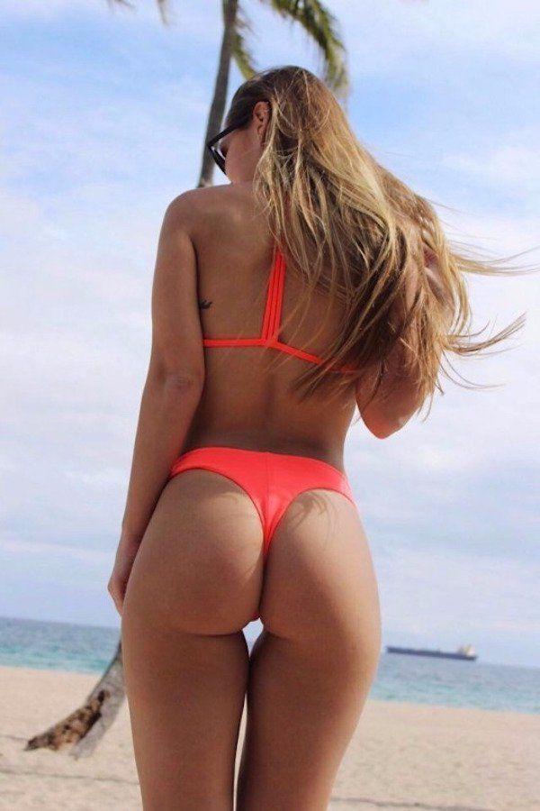 Bikini butt girl — 12