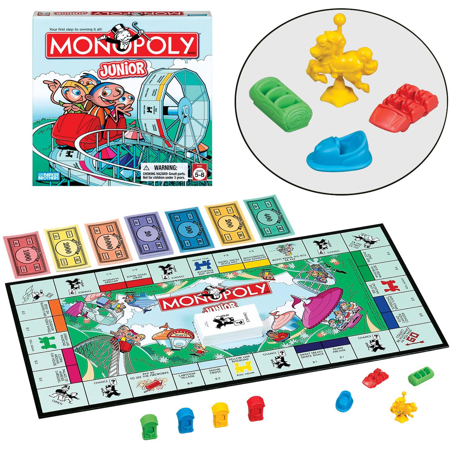 Kid S Monopoly If You Can Keep All The Pieces Together It Works