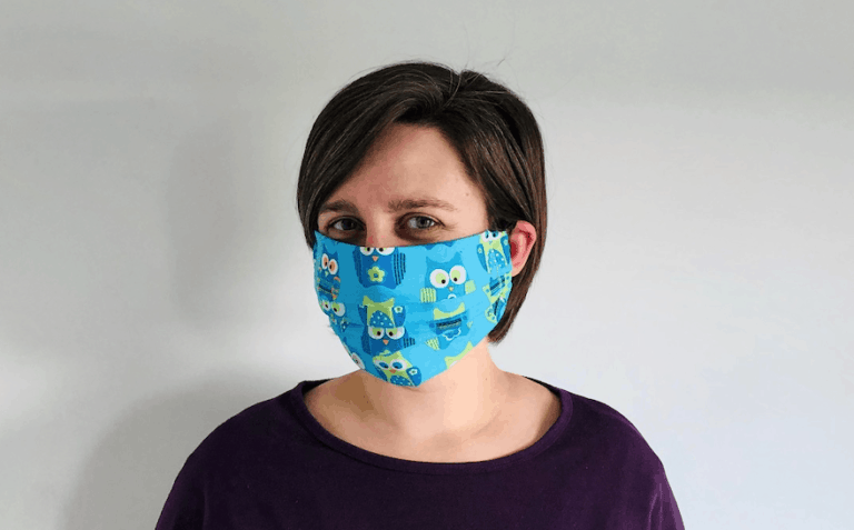 Photo of The EASIEST DIY Cloth Face Mask Tutorial – Beginner Sewing
