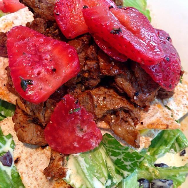 レシピとお料理がひらめくSnapDish - 5件のもぐもぐ - Cajun Carne Asada Salad by Cheryl Melnick