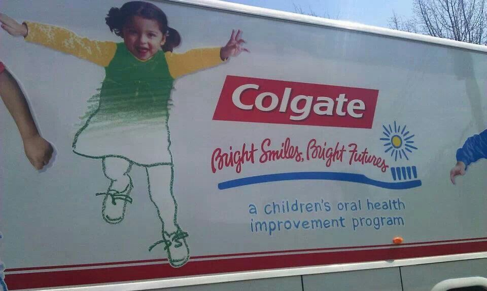 Partners with colgate after school program