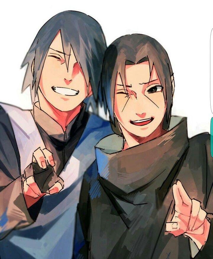 Sasuke, Itachi, Uchiha brothers; Naruto