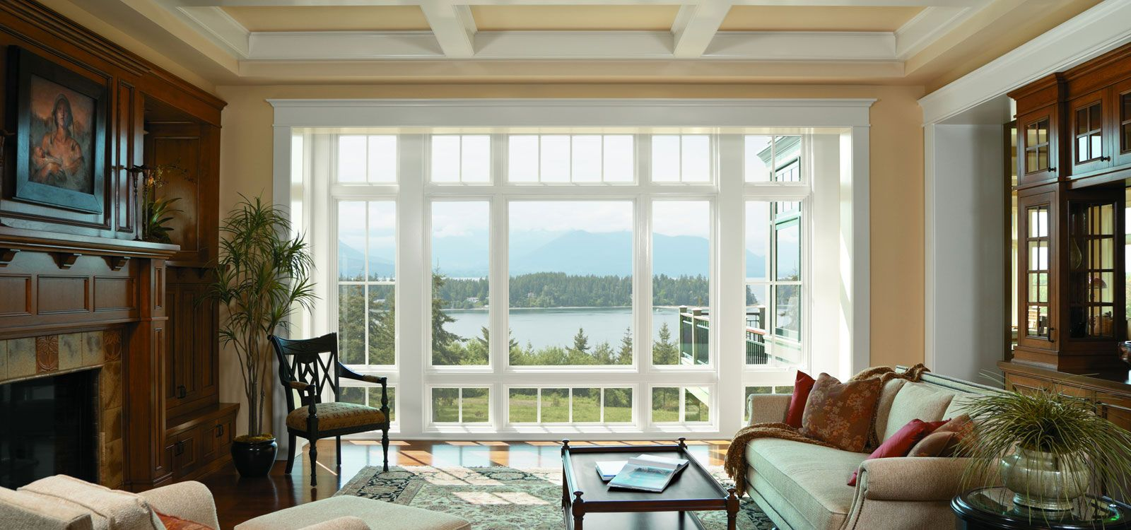 Andersen Replacement Windows At The Home Depot  Breathtaking Mesmerizing Living Room Window Design Ideas Inspiration