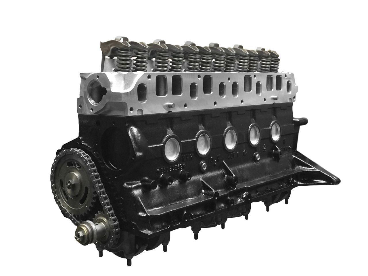 Titan Hyper 4 7 Jeep Stroker Engine W High Flow Edelbrock