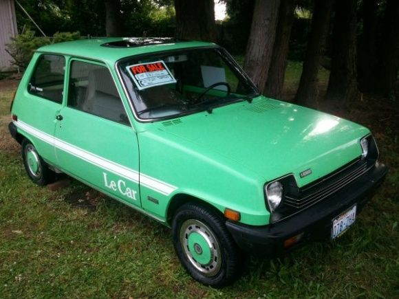 Le Car!!!! 1978 Renault 5 GTL Love this mint green one! | things ...