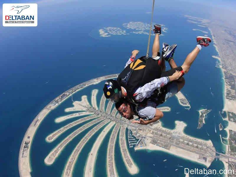 اوج هیجان با اسکای دایوینگ دبی In 2020 Skydiving Dubai United Arab Emirates
