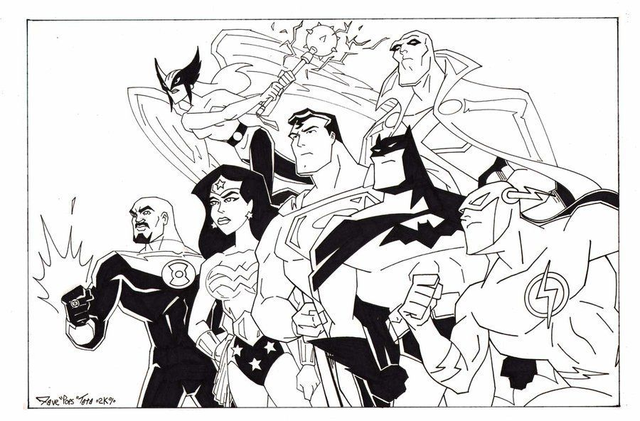Justice League Coloring Pages Best Coloring Pages For Kids Superhero Coloring Pages Drawing Superheroes Superhero Coloring
