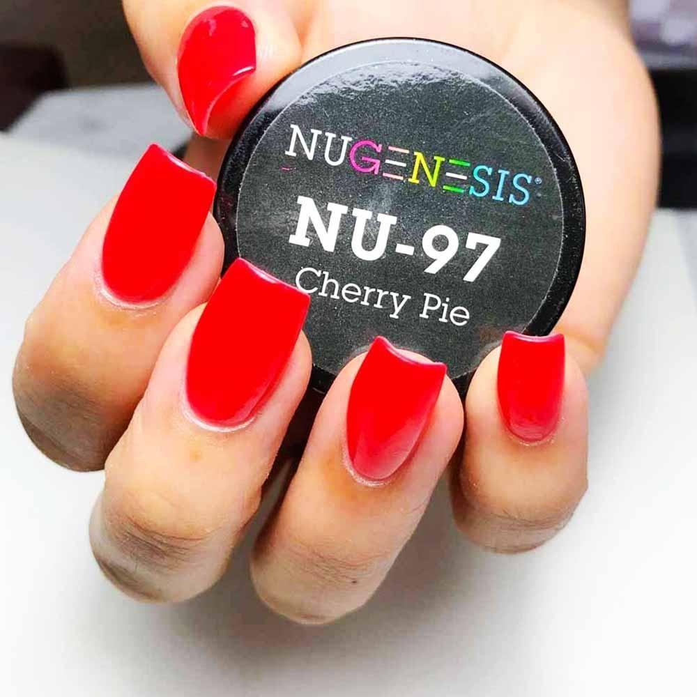NuGenesis Nails Dip Powder Cherry Pie NU 97