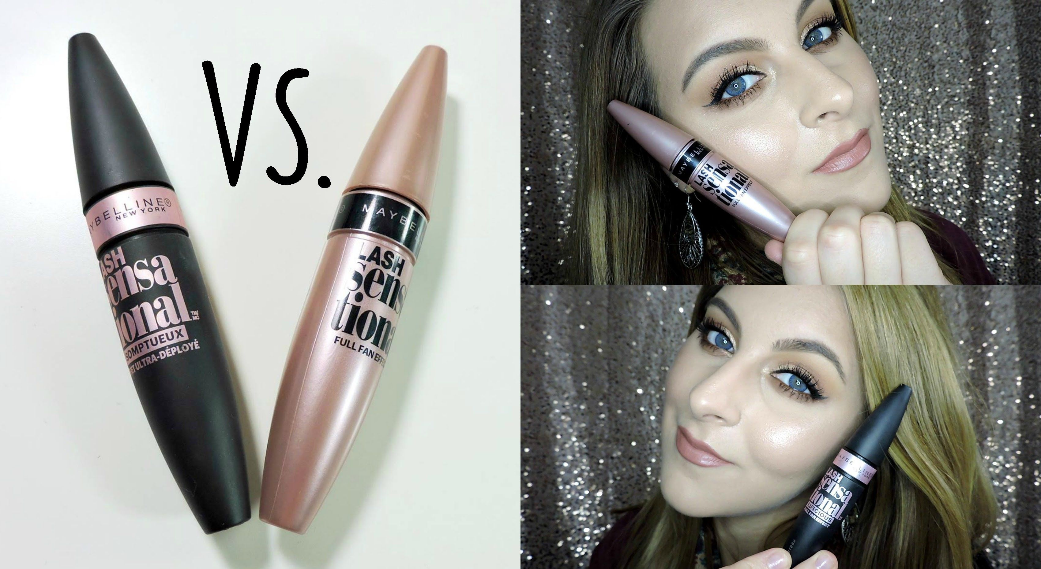 bdbb25988f6 WHAT'S THE DIFFERENCE? | Maybelline Lash Sensational Mascaras ...