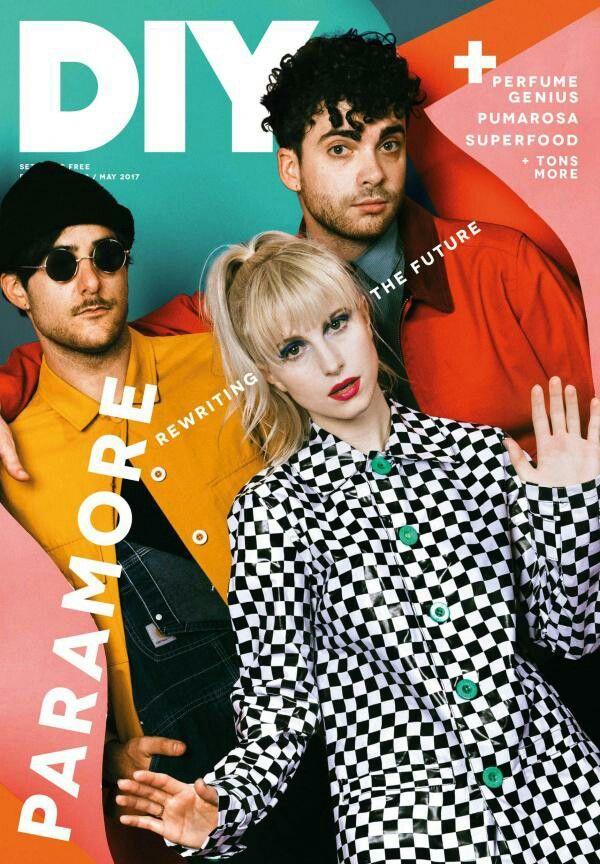 Diy Magazine paramore - diy magazine cover | paramore | pinterest | hayley