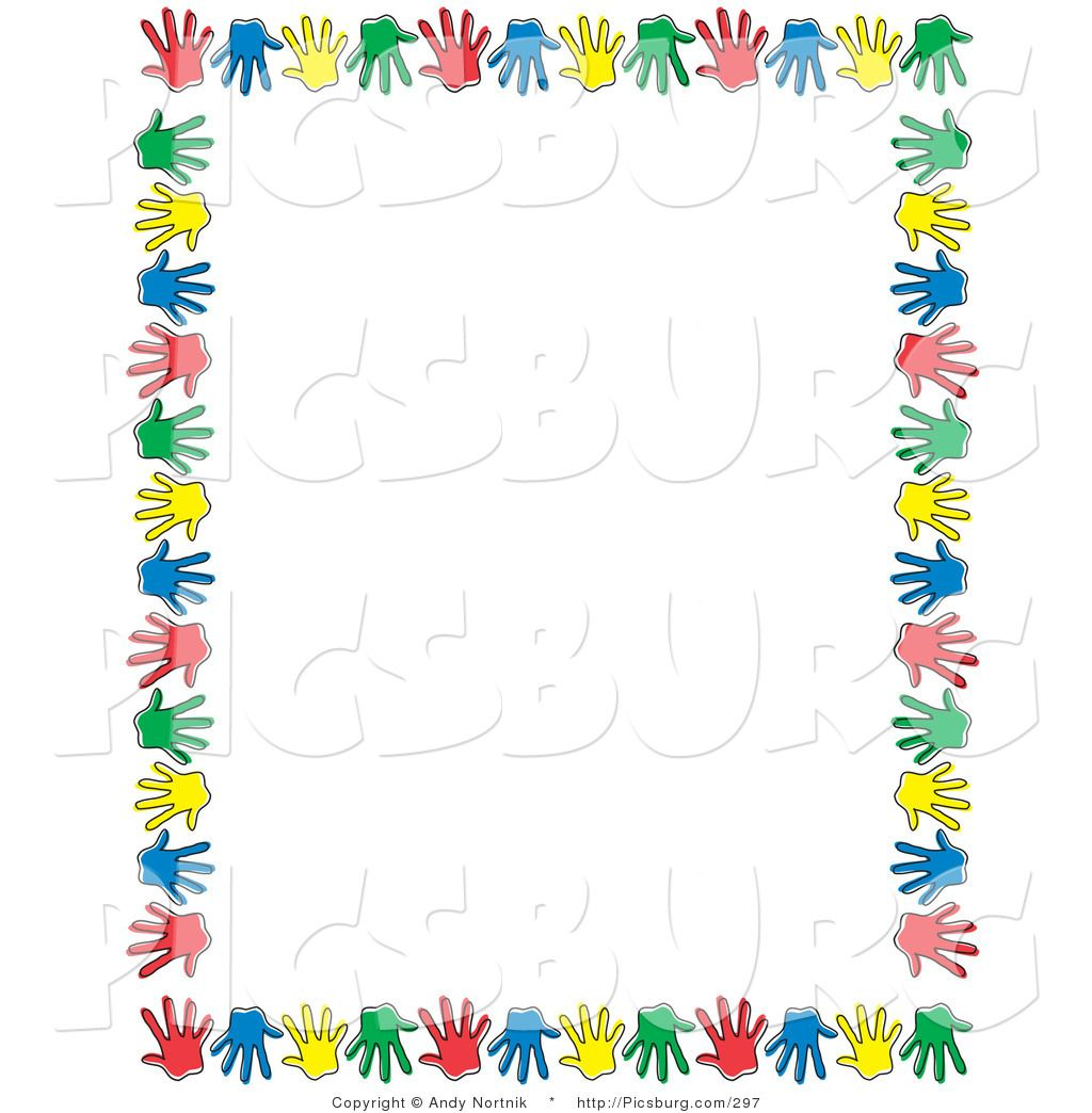 free clip art borders of children' - photo #19